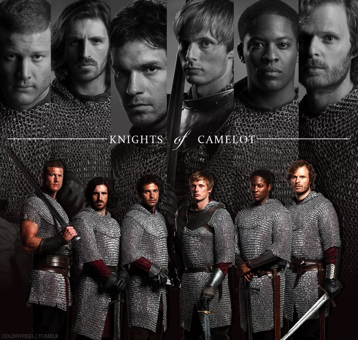 Knights of Camelot- Merlin  <3 them all. each and everyone one of them.