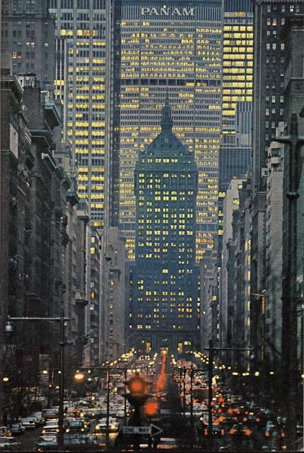 Park Avenue, New York (1964). #NewYorkNewYork