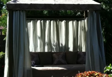 Outdoor Bed Cabana