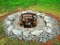 Chucks fire pit