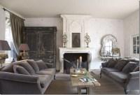 rustic gray living room | Grey Gardens | Pinterest