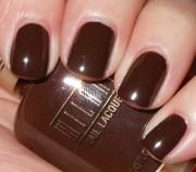 brown nail polish mahogany chestnut