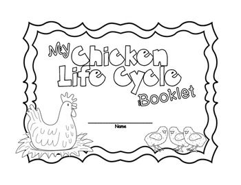 Life Cycle of Chicken Science and Literacy Activities