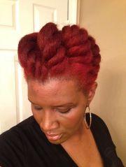 jumbo flat twist natural hair