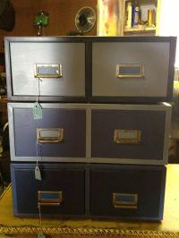 28 Beautiful Repurposed File Cabinets