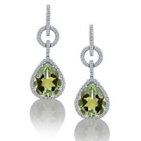 Le Vian earrings | Celebrity jewelry | Pinterest
