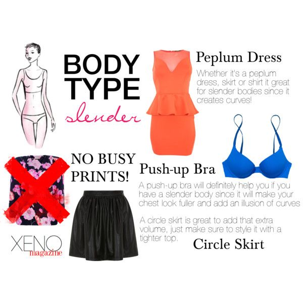 """Dressing For Your Body Type: Slender"" by delightoftheyoung on Polyvore"