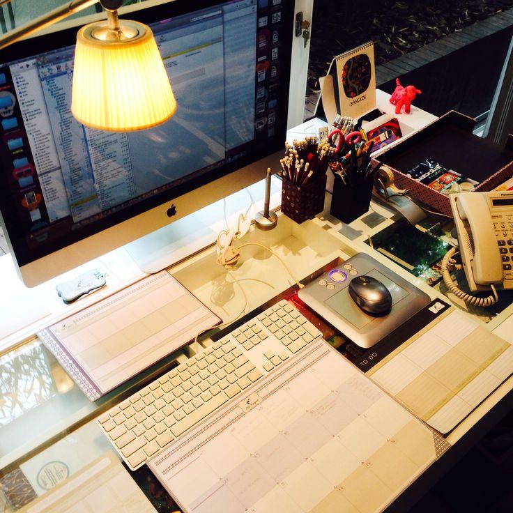 Mesa organizada dá até vontade de trabalhar ❤️ linha de organizadores Joy Paper
