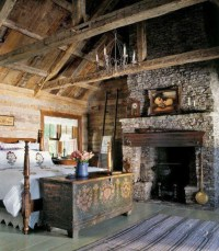 Rustic yet romantic bedroom | all things french | Pinterest