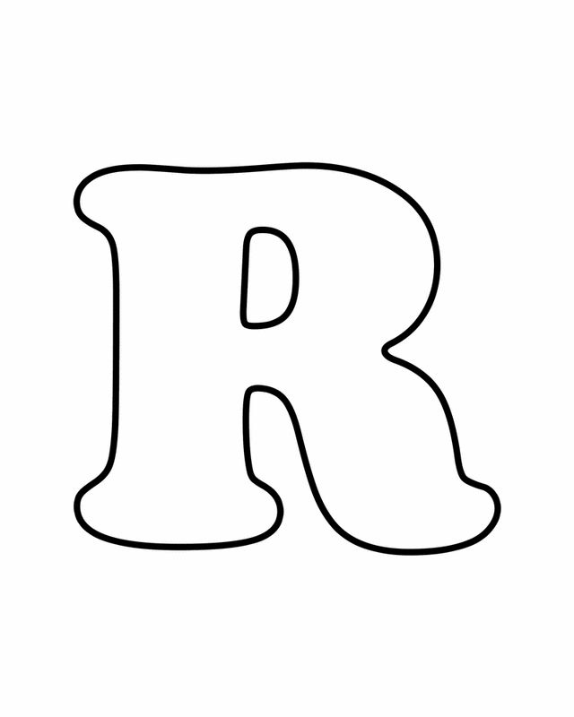 letter r  free printable coloring pages  alphabet