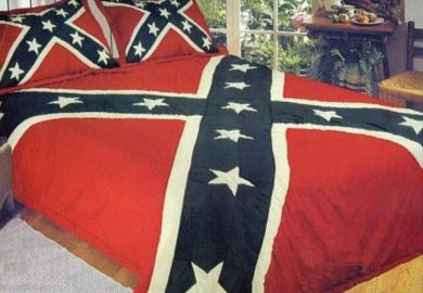 Rebel Flag Bed Set I Only Need The Pillow Cases More
