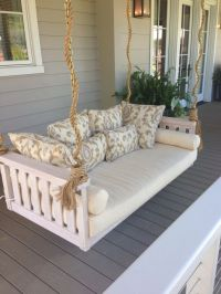 Porch swing/ bed | Rustic | Pinterest
