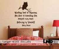 Harry Potter Quote wall decal wall decals by ...