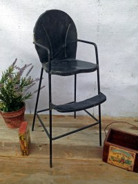 Vintage metal high chair | osnovosti.ru