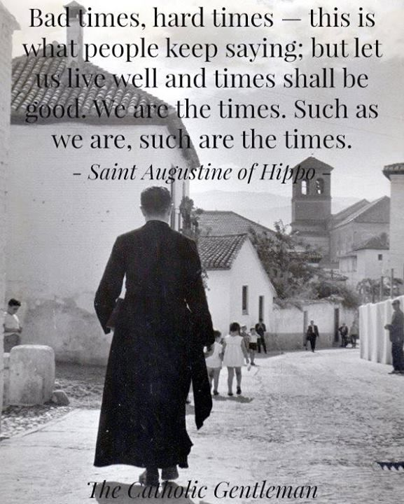 St Augustine Hippo Quotes