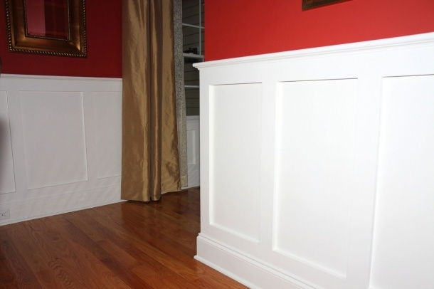 shaker style wainscot  Google Search  home  Pinterest