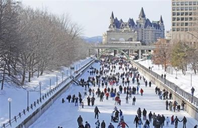 Image result for pics of rideau canal skating
