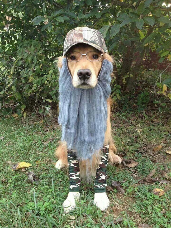 Duck Dynasty dog costume
