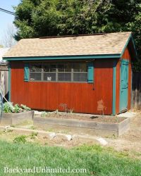 Dutch Door: Garden Shed Dutch Door