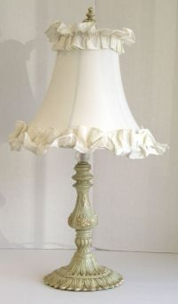 Shabby Chic Table Lamp | lamps shades | Pinterest