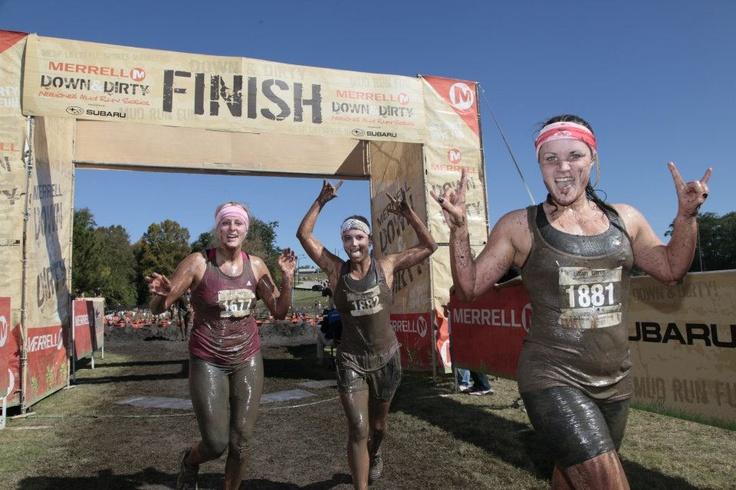 mud run finish