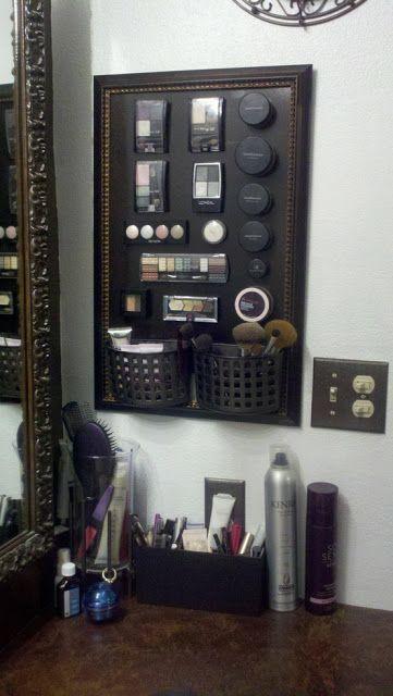 Conselho de maquiagem magnético