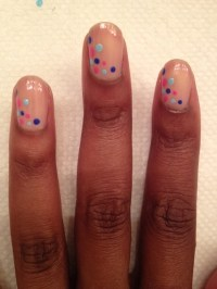 Quick & easy nail design   Nails   Pinterest