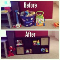 Living room toy storage | Colton Allen