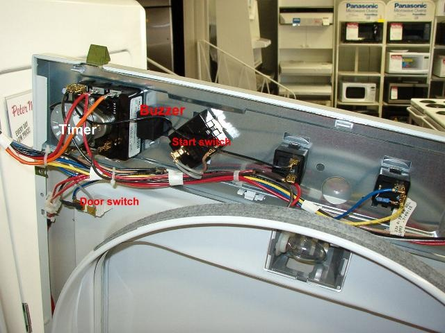 Ge Dryer Timer Wiring