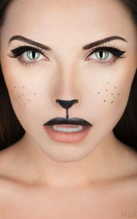 Halloween makeup by ronisilver