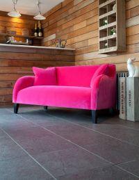 Pink velvet sofa | Lovely Velvet Furniture | Pinterest