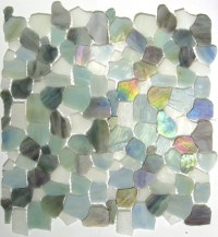 sea glass tile | Glass Tile and Mosaic | Pinterest