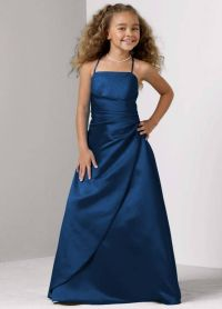 Junior bridesmaid dress in navy blue!!