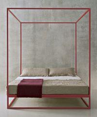 Modern four poster bed | Propertyfurniture.com | Pinterest