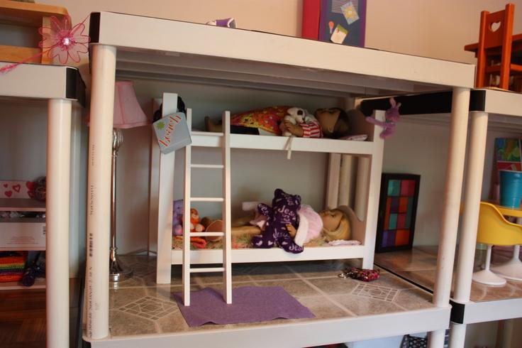 American Girl Doll Bedroom Tutorial