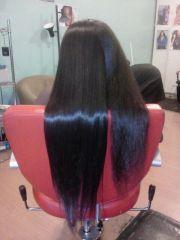 flat iron natural hair dash