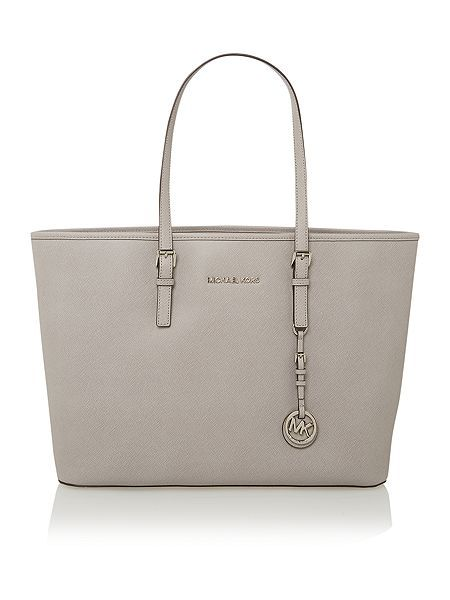 Jetset Travel grey medium tote bag