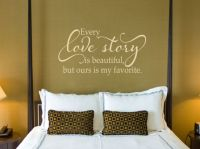 Every Love Story is Beautiful - Love Wall Decal - Master ...