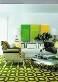 David Hicks geometric carpet. | design + decor: indoors ...