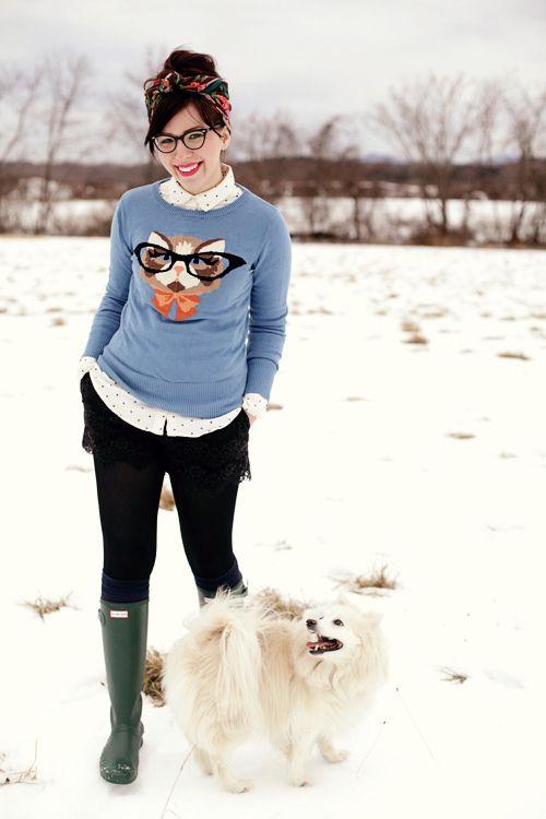 keiko lynn: snow bunny
