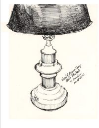 drawings of table lamps - Google Search | Lighting | Pinterest