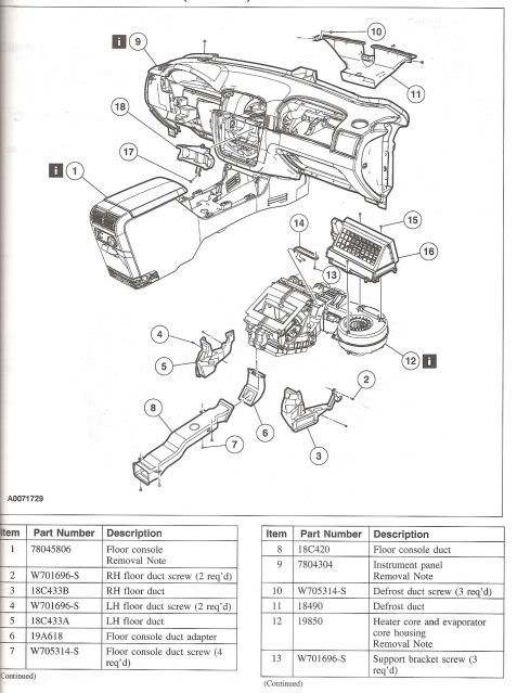 2004 Ford Explorer Air Conditioning Diagram, 2004, Free