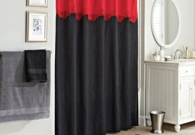 Black And White Shower Curtains Black And White Fabric