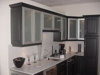 kitchen frosted cabinet doors | My Casa! | Pinterest