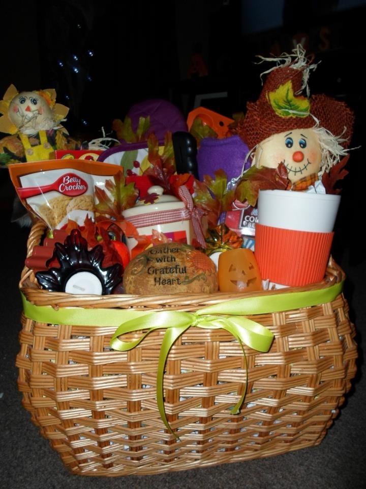 Fall basket holiday diys pinterest