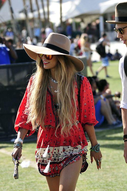 Vanessa Hudgens @ Coachella 2014 #festival #freespirit