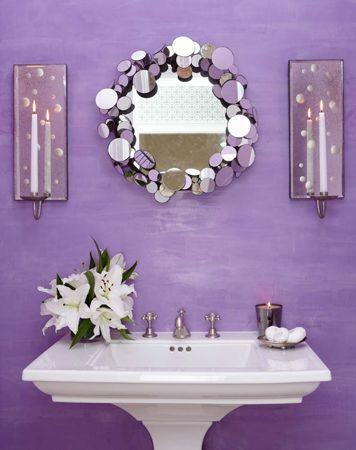 Fioletowa łazienka Jak Urządzić łazienkę W Kolorach