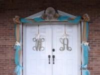 Door decoration ideas | 50th Anniversary | Pinterest
