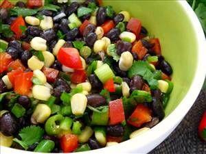 Black Bean and Corn Salad (Low-GI Recipe)