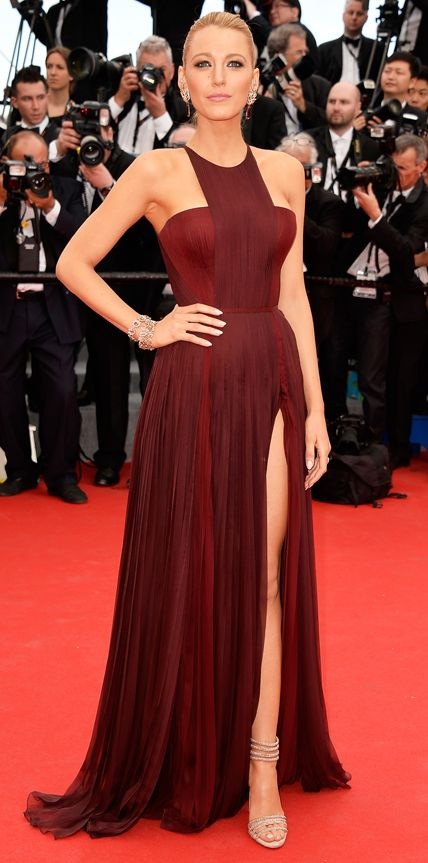 Celebrities in Marsala: Pantone's 2015 Color of the Year - Blake Lively from #InStyle